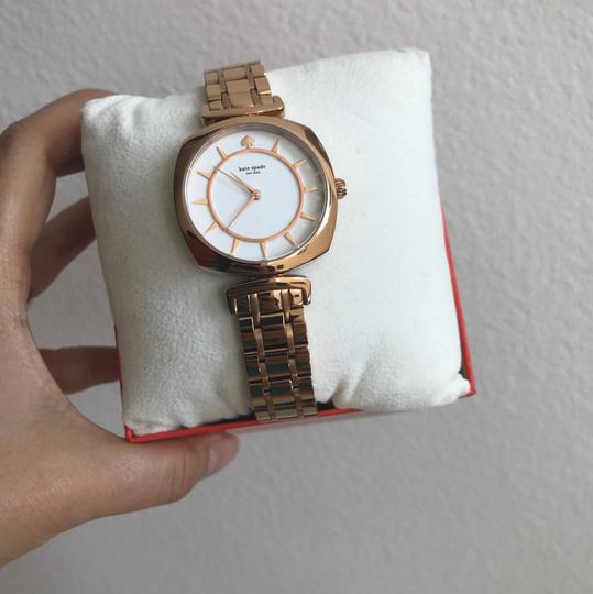 Kate Spade Brand new Kate Spade New York rose gold-tone barrow watch KSW1229 Image 3