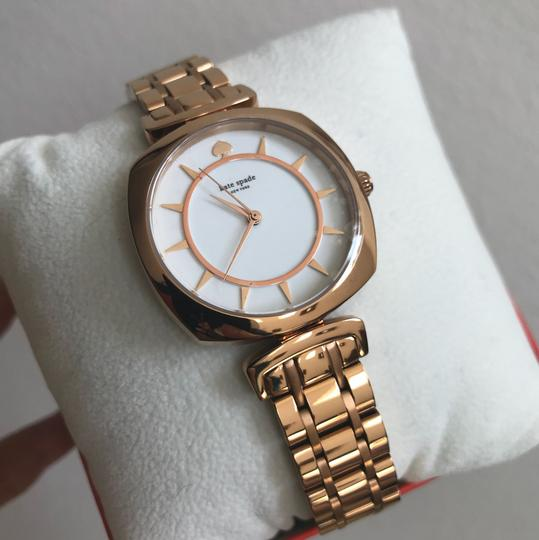 Kate Spade Brand new Kate Spade New York rose gold-tone barrow watch KSW1229 Image 4