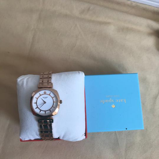 Kate Spade Brand new Kate Spade New York rose gold-tone barrow watch KSW1229 Image 6