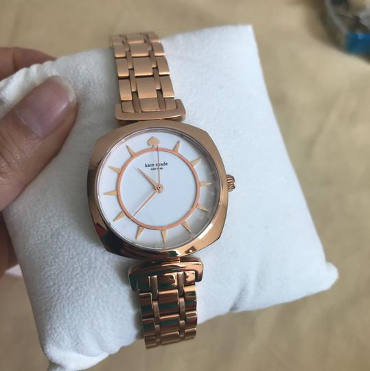 Kate Spade Brand new Kate Spade New York rose gold-tone barrow watch KSW1229 Image 7
