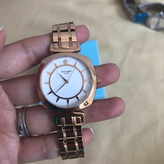 Kate Spade Brand new Kate Spade New York rose gold-tone barrow watch KSW1229 Image 8