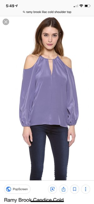 Ramy Brook Top purple Image 1