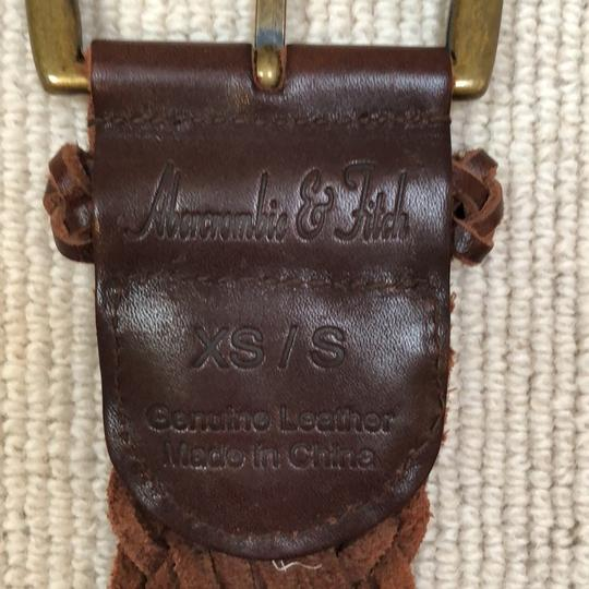 Abercrombie & Fitch braided belt Image 2