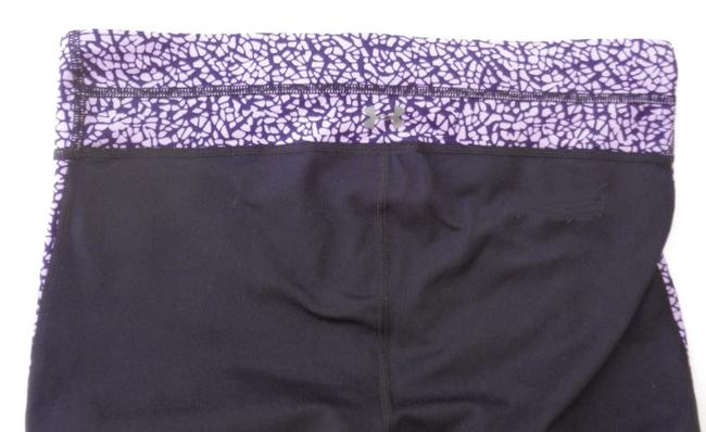 Under Armour Under Armour 1279070 Reflect Fitted Compression Capri Black/Purple S Image 2