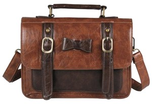 Ecosusi Briefcase Satchel in Coffee
