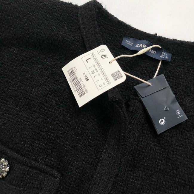 Zara black Jacket Image 4