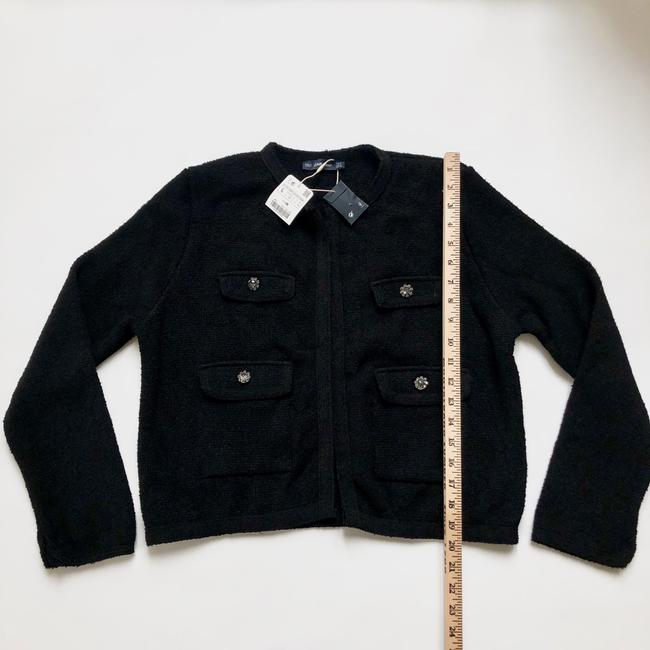 Zara black Jacket Image 5