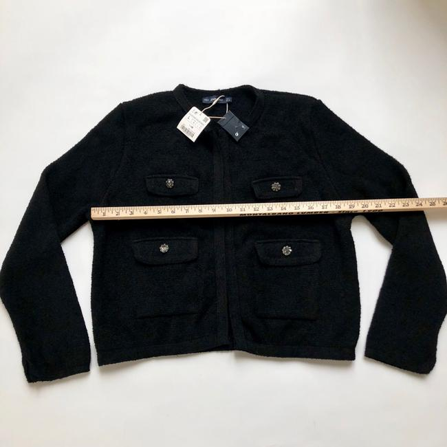 Zara black Jacket Image 6