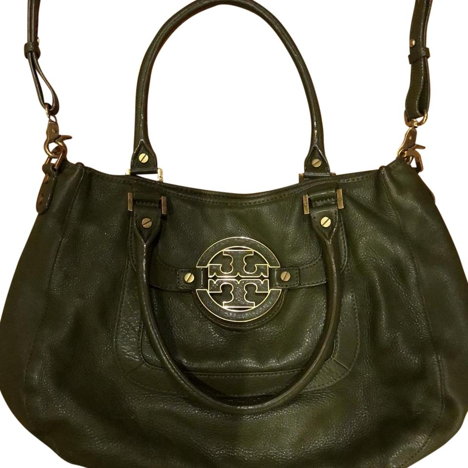 b6c3c338ac89 Tory Burch Amanda 2 Handle with Detachable Shoulder Strap Army Green ...