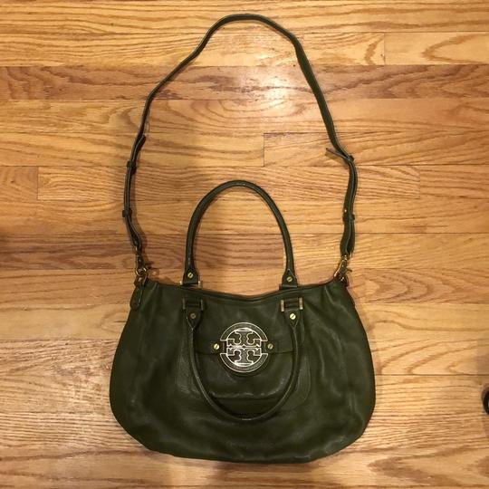 Tory Burch Satchel in army green Image 1