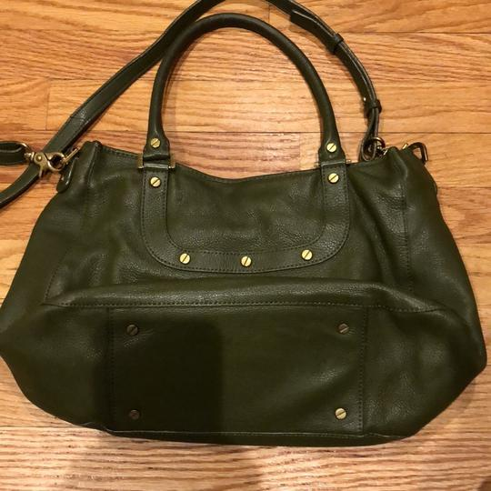 Tory Burch Satchel in army green Image 2