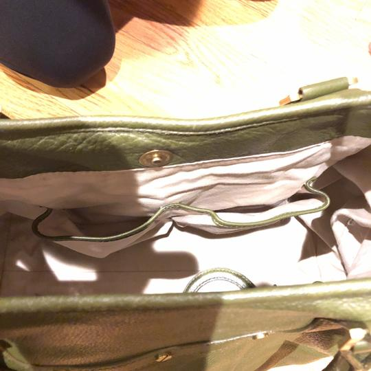 Tory Burch Satchel in army green Image 5