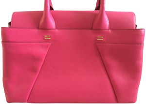 Roland Mouret Tote in Royal Fuchsia