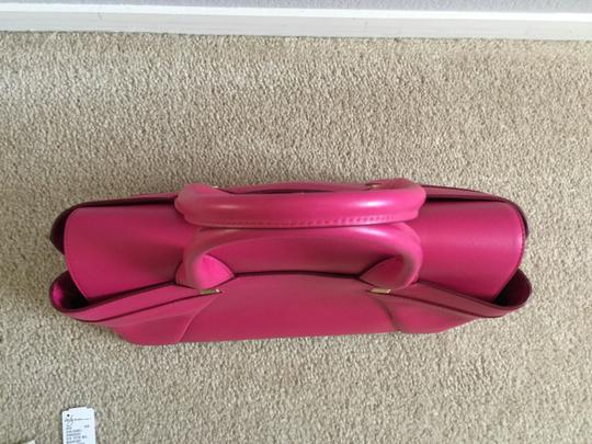 Roland Mouret Tote in Royal Fuchsia Image 6