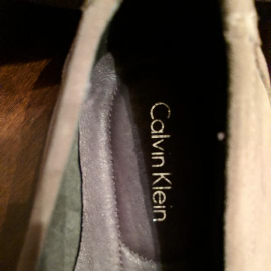 Calvin Klein Mens Size 12 Driving Loafer New Taupe Flats Image 1