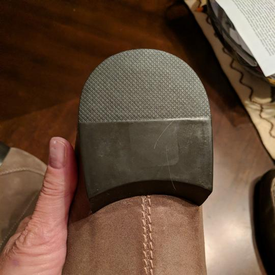 Calvin Klein Mens Size 12 Driving Loafer New Taupe Flats Image 5