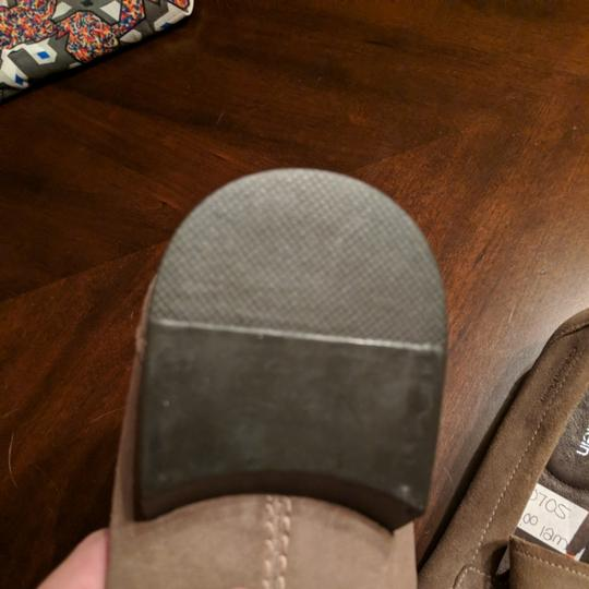 Calvin Klein Mens Size 12 Driving Loafer New Taupe Flats Image 7