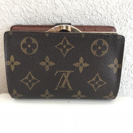 louis vuitton brown monogram canvas portemonnaie viennois wallet tradesy. Black Bedroom Furniture Sets. Home Design Ideas