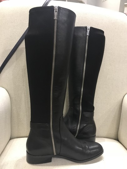 Michael Kors Leather New Black Boots Image 1