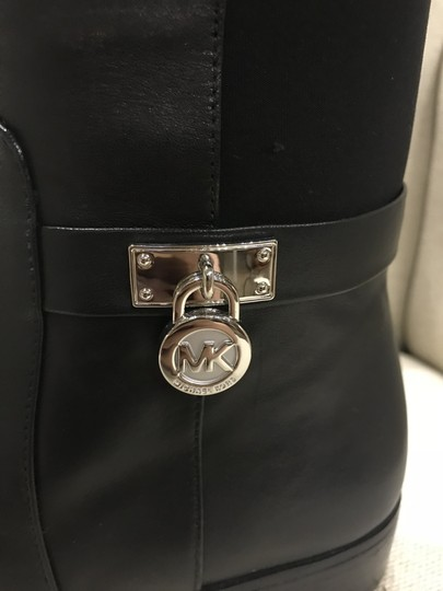Michael Kors Leather New Black Boots Image 2