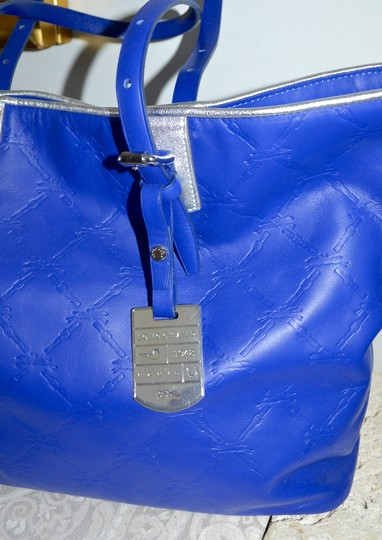 Longchamp Cuir Leather Tote in Cobalt Blue Image 2
