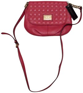 Tignanello Leather Quilted Cross Body Bag