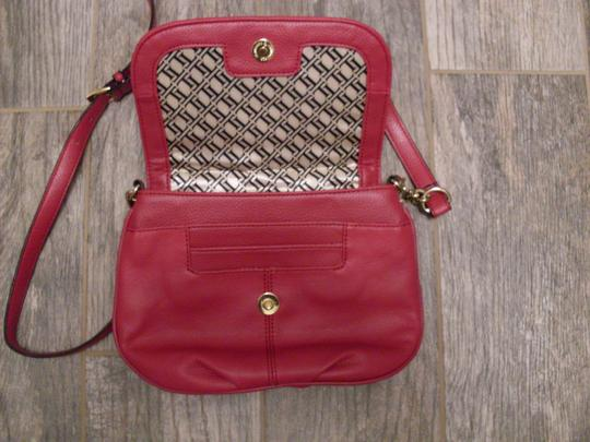 Tignanello Leather Quilted Cross Body Bag Image 3
