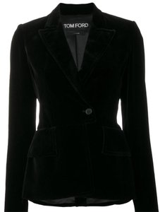 Tom Ford Classic Tailored Black Blazer
