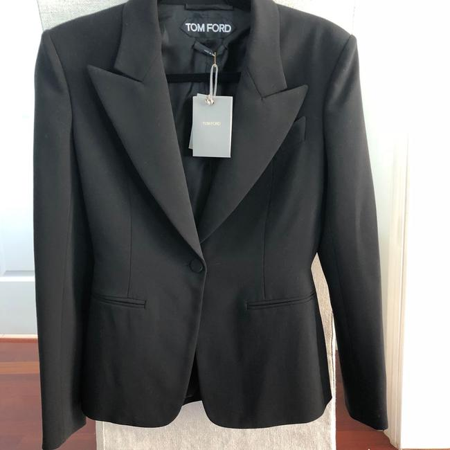Tom Ford Classic Tailored Black Blazer Image 1