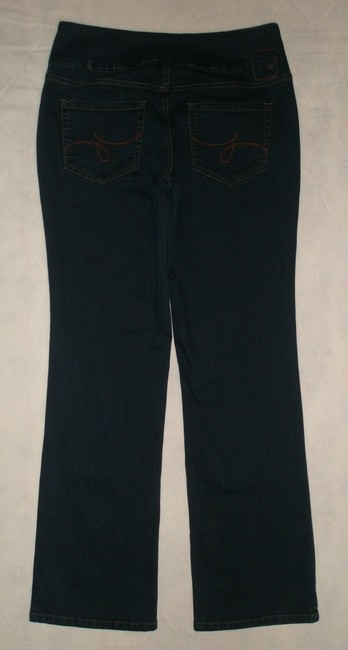 Jag Jeans Boot Cut Jeans-Dark Rinse Image 1
