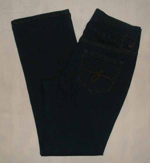 Jag Jeans Boot Cut Jeans-Dark Rinse Image 2