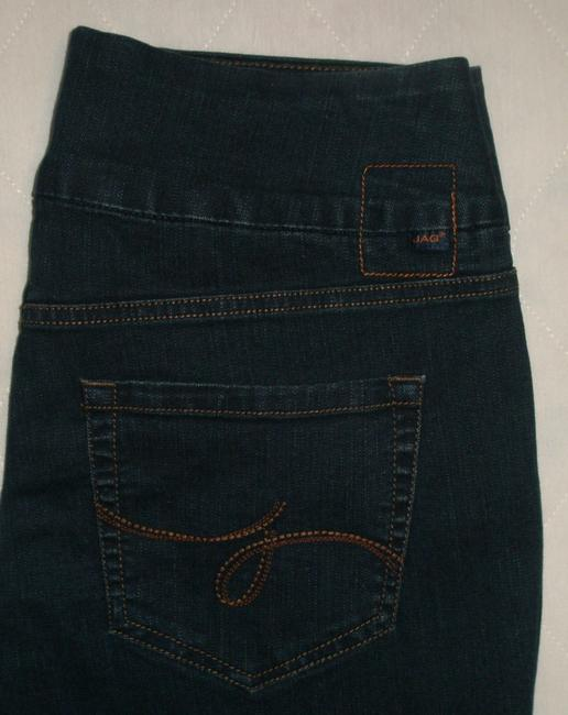 Jag Jeans Boot Cut Jeans-Dark Rinse Image 3