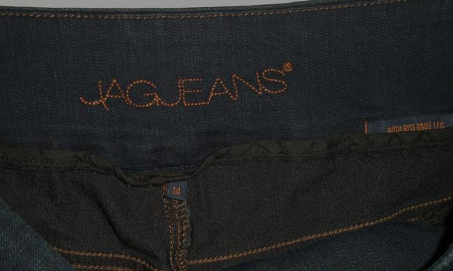 Jag Jeans Boot Cut Jeans-Dark Rinse Image 4