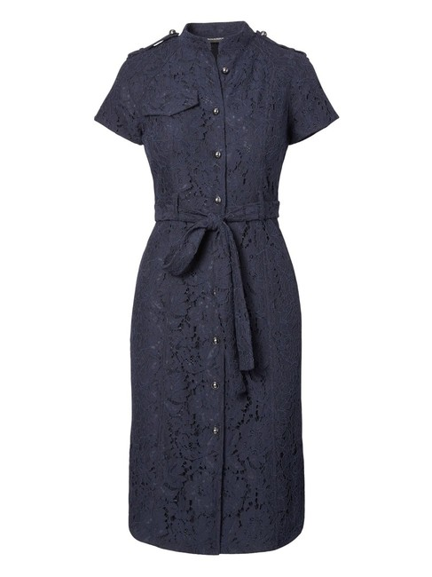 Preload https://img-static.tradesy.com/item/22877448/banana-republic-new-lace-belted-shirtdress-mid-length-workoffice-dress-size-petite-4-s-0-0-650-650.jpg