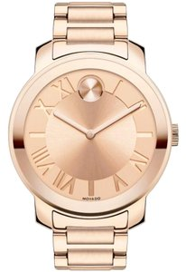 Movado Movado Bold SWISS Rose Gold Champagne Dial Ladies Watch 3600199