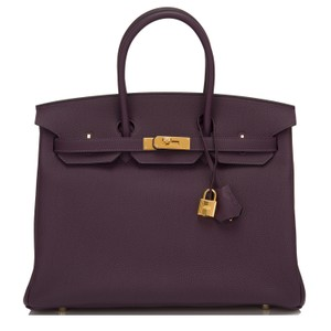 Hermès Satchel in Purple