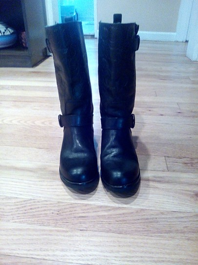 Coach Black Leather Coach Boots Boots Image 3
