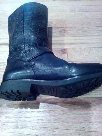 Coach Black Leather Coach Boots Boots Image 5