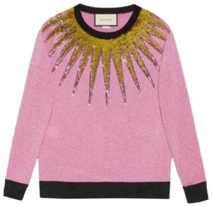 Gucci Shirt Sequin Blouse Sweater