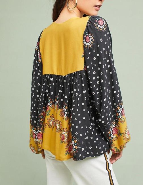 Anthropologie Top Multi-Color Image 1