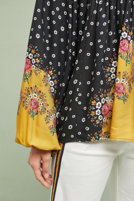 Anthropologie Top Multi-Color Image 2