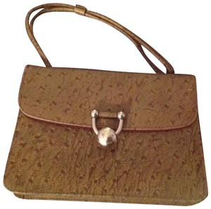 Made of genuine leather Satchel in Brown