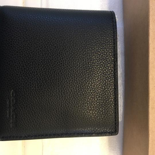 Coach Double Billfold Wallet In Sport Calf Leather Image 4