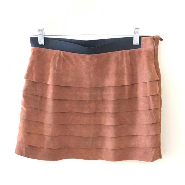 Preload https://img-static.tradesy.com/item/22878022/joie-tiered-suede-skirt-size-4-s-27-0-0-650-650.jpg