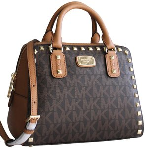 Michael Kors Satchel in Brown Acorn