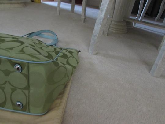Coach Tote in Green Image 5