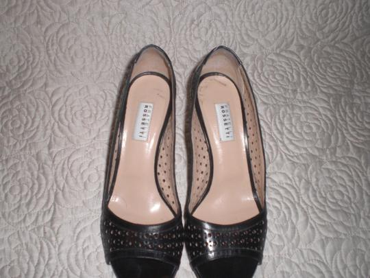 Fratelli Rossetti Comfortable Leather Black Pumps Image 4