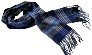 d842f67481c Saks Fifth Avenue NEW boxed 100% Cashmere Wool Fringe Soft Scarf Exploded  Plaid Scarf
