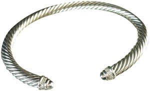 David Yurman David Yurman Cable Classics Bracelet with Diamonds, Medium