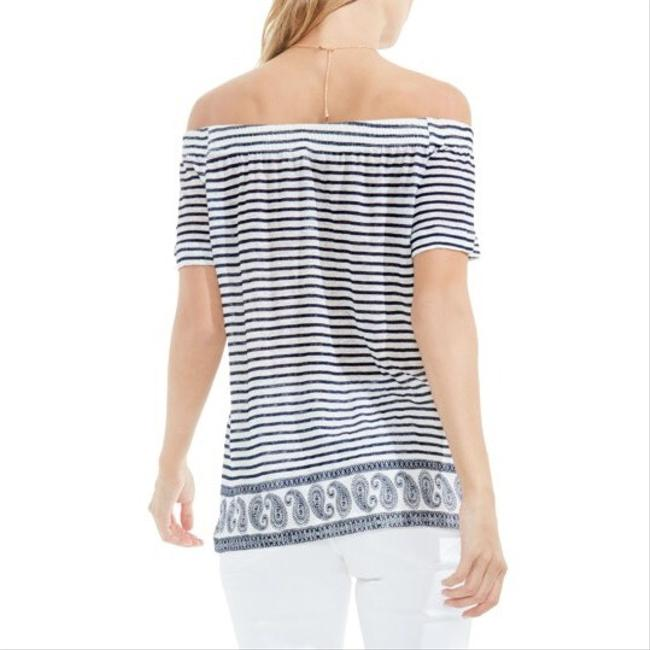 Vince Camuto Top navy white Image 1